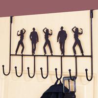 Seamless door hook strong adhesive hook wrought iron coat hook wall