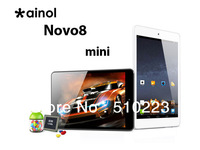 FreeShipping !! Ainol novo8 mini tablet pc android 4.1 Dual Core 7.85inch 512MB/8GB HDMI wifi camera OTG