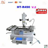 HT-R490 V2 Bga rework station/bga welding machine+bga accessories/tool,upgraded from honton R490 bga repair staion,HT bga syatem