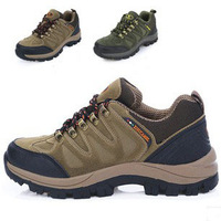 Large size 2014 men shoes Outdoor Hiking Shoes Warm 100% Genuine leather Climb athletic hiking shoes slip-resistant sports shoes