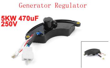 Preto gerador 5KW 470 uF 250 V regulador automático de tensão AVR
