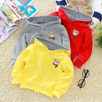 Baby boy autumn outerwear male clothing child clothes spring and autumn female child top outerwear sweatshirt