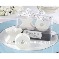 Wholesale Cheap Wedding Favors&Gifts XO Cruet set,Ceramic spice,XO Salt & Pepper shake
