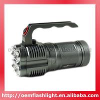 JEXREE 4 x Cree XM-L2 U2 LED 4-Mode 4500 Lumens Diving Flashlight (4 x 18650)