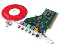 New PCI 8 Channel 8CH 7.1 Sound Card Optical VIA 1723 Chipset for Windows 7,Vista,XP