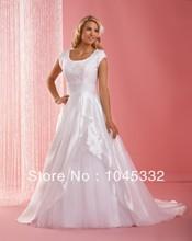 wholesale simple long sleeve wedding dresses