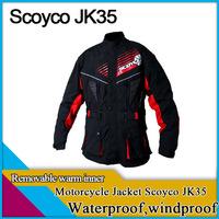 Freeshipping Scoyco JK35,motorcycle jakcets,warm,waterproof,3 colors,XXL size ,cycling racing gear,jackets