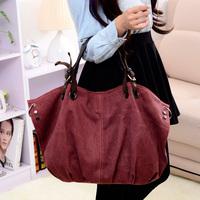 2013 women's canvas  tote bag shoulder bag messenger bag handbag women's casual canvas women's handbag