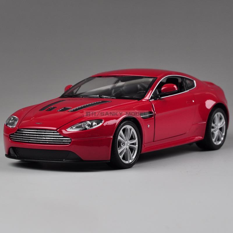 [ Alloy car models ] WELLY Model Toy 1:24 luxury sports car V12 vantage mode(China (Mainland))