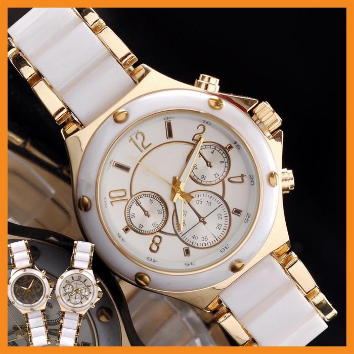 Famous M Brand Steel Dress Quartz Luxury Wrist Watch  w Logo for Women    Wrist Watch Brand Logos