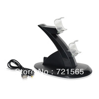 50% off  Dual USB Charging charger Dock Station Stand for PS4 Controller PS4 Gamepad/free shipping