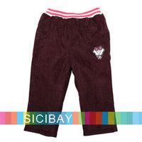 2014  Winter Girl Children's Pants Fashion Elasticized Waist Trousers,Free Shipping K4308