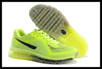 Free shipping wholesale 2014 breathe casual leather shoes, all air sneakers for men, sport running shoe, 1105 EUR 40-46
