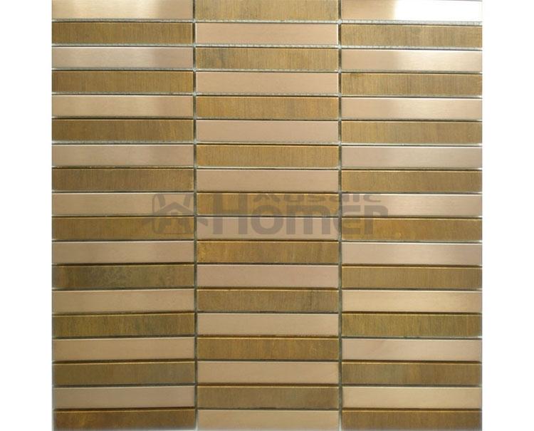 Hoge kwaliteit groothandel bronzen tegel backsplash van chinese bronzen tegel backsplash - Wandbekleding keuken roestvrij staal ...