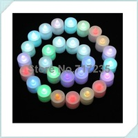 Colorful Flickering Flicker Flameless LED Tealight Tea Candles Light BatteryOperated Wedding Birthday Party Christmas Decoration