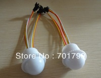 26mm diameter WS2811 LED pixel module;3pcs 5050 SMD RGB  LED,DC12V input;milky cover;0.72W