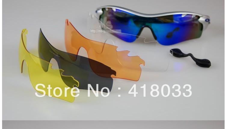2 pcs ,Men's Cycling Women's Bicycle Bike Sungasses Polarized RADARLOCK PATH Tennis Golf Racing Glasses Pop Driving Sun glass(China (Mainland))