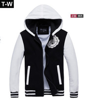 TUHM122801 2013 New fashion mens jacket outdoor cotton sweatshirt hoodies fleece jackets men have large size 4xl free shipping