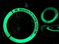 For KIA 2012 RIO k2 K3 K5 Sportage R Hyundai Verna Toyota Corolla Rav4 Ralink YARiS luminous ignition switch decoration stickers