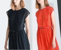 Free Shipping za**Dresses Brand shorts women 2014  Saias OL Clothing American apparel Autumn -Summer
