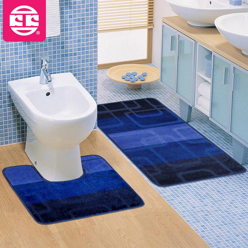 Koko new arrival bathroom mats carpet bath mats mat twinset bath mat pads(China (Mainland))