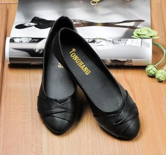 2014 NEW Fashion Elgent Women shoes for Ladies flats & White, Black(China (Mainland))