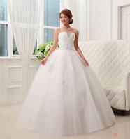 Boutique wedding dress bandage lacing wmz wedding tube top wedding dress paillette wedding dress slim princess
