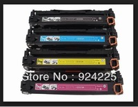 free shipping ! free shipping ! compatible color toner cartridge CE320A CE321A CE322A CE323A for HP CM1415fnw