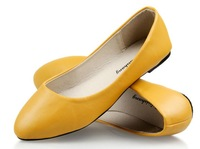 Casual Shoes for Womens Faux leather slip-on Flats for Womens FREE SHIPPING S0042