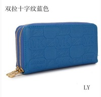 New 2013 Fashion Bag wallet medium-long style female coin purse single zipper Wallets pu wallet woman handbag