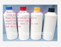 Hot !High quality color toner powder for Konica Minolta Bizhub C200 C203 C253 C353 wholesale refill toner powder