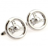 Steering wheel cufflinks male French shirt sleeve button nail sleeve tzg05522