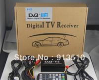 DVB T2 H.264 MPEG4 Mobile Digital TV Box External USB DVB-T2 Car TV Receiver Russian&Europe&Southeast Asia Free shipping