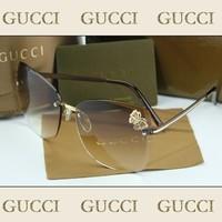 oculos Female diamond sunglasses frameless elegant butterfly sun glasses 2014 2765