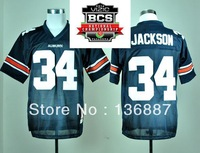 2014 BCS Championship Game Jersey,Auburn Tigers #34 Bo Jackson,Embroidery logos,NCAA College Football Jerseys,Can Mix Order