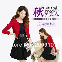 Hot Sale High Quantity 2014 autumn women's fashion slim work wear elegant winset female career set 3 pieces