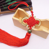 Rich end chinese knot Small gift gold quality chinese knot