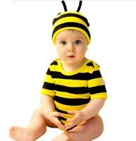 animal model short sleeve baby romper