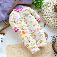 Free shipping Spring and autumn baby  clothing climb  romper creepiness newborn clothes romper