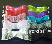 """5 """" Large sequin bow sequin bows hair accessories 10Colors 50pcs/lot wholesale price"""