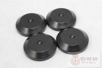 4 pcs Ebony D33 Shockproof Speaker Spikes Mat, amplifier Speaker Spike Shoes Pads , HiFi Mounts