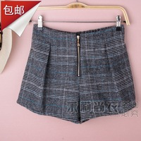 2013 fashion sweet casual plus size boot cut jeans female autumn and winter shorts woolen shorts a-line skirt pants