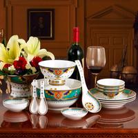 Fashion 28 bone china set bowl set quality gift ceramic tableware
