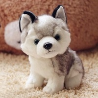For dec  oration small doll husky dog Jack-a-Lent plush toy birthday gift