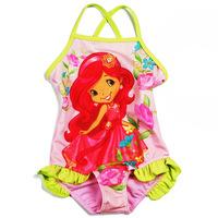 girls new swimsuit Girls Children's swimwear free shipping  2 piece / lots