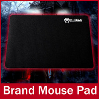 KINBAS Brand 260 x 210 x 2 mm Top Game Mouse Pad PC Computer Laptop Gaming Mice Play Mat Mousepad Fabric + Rubber Material