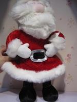 Christmas gift 42cm plush toy dolls new year gift dolls  Free shipping