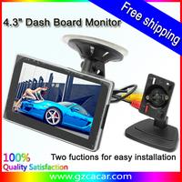 Free shipping! 4.3 inch Car monitor Car LCD Monitor,car dashboard monitor