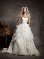 Funky Sweetheart Wedding Dress