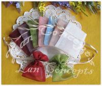 Free shipping Wedding Favors Organza Drawstring Pouches Jewelry Gift Bag - 7x9cm 120pcs/lot  BOG0079